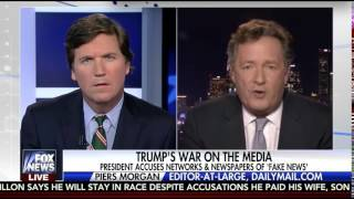 Piers Morgan Puts Liberal America in its Place on the Tucker Carlson Show