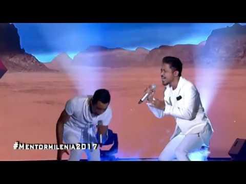 USOP ft HAZAMA  (KASIHNYA LAILA) Mentor Milenia 2017 Separuh Akhir Minggu 12