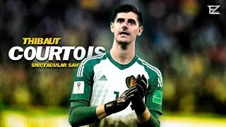 Thibaut Courtois 2018 ▬ Welcome a Real Madrid - Spectacular Saves | HD