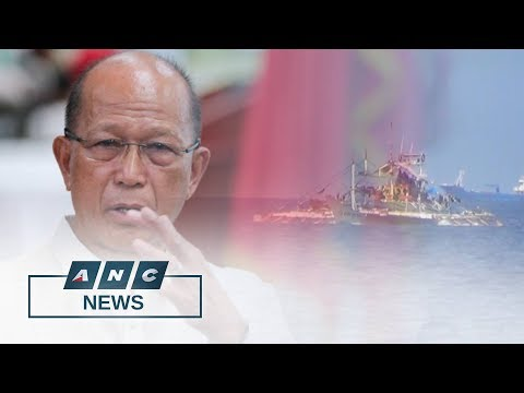 Lorenzana: China a bully for Scarborough shoal 'takeover'