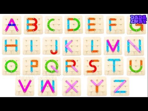 Учим английский язык|Английский алфавит|Учим цвета|Буквы английского алфавита