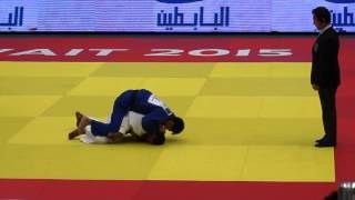 2015年亞洲盃柔道錦標賽-60kg男子選手蔡明諺(勝)v.s.沙烏地阿拉伯