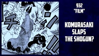 "One Piece Manga Chapter 932 ""Film"" ""Movie"" Summary 