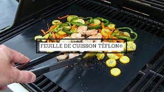 feuille de cuisson teflon pour bbq et four tapis de cuisson pour four et barbecue