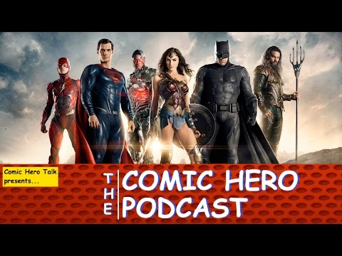 CHT Podcast #5: Comic-Con Trailers - WONDER WOMAN, JUSTICE LEAGUE & DOCTOR STRANGE