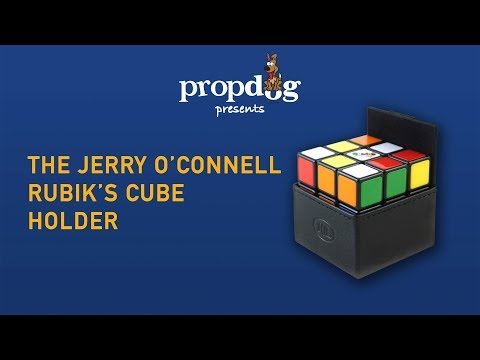 Rubik's Cube Holder by Jerry O'Connell and PropDog - www.propdog.co.uk
