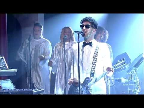 Chromeo  Jealous I Aint With It Late Show with David Letterman