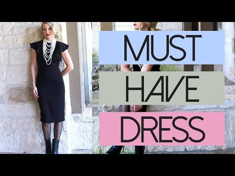 Five Ways To Style Your Little Black Dress  Fashion Over 40