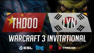WC3 - Th000 vs. Lyn - Ting Warcraft Invitational - Semifinal [1/2](Introducing the Warcraft Ting Invitational. Ting, Matcherino and ToD have partnered up to bring you a Warcraft 3 tournament of the ages starring many of ..., 2016-10-24T15:20:12.000Z)