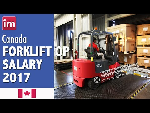 Forklift Operator Salary In Canada (2017) - Jobs In Canada