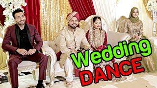 DANCING AT MY FRIENDS WEDDING