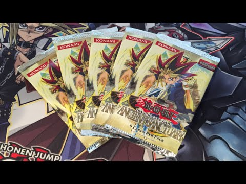 Yugioh Ancient Sanctuary 5 Packs Opening - Original Series Set