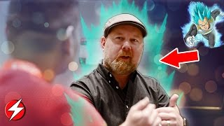 HILARIOUS! Interview With Voice Of Vegeta (Christopher Sabat) Dragon Ball Super – Anime Boston 2017