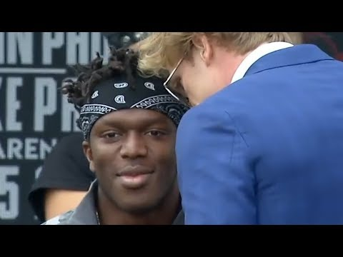 WHAT YOU MISSED FROM THE KSI VS LOGAN PAUL PRESS CONFERENCE