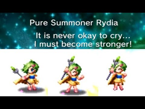 Pure Summoner Rydia is such a Cutie Pie   FFBE Final Fantasy Brave Exvius