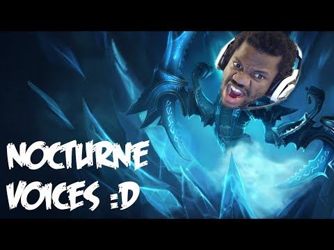Nocturne  Voice  Impressions League of Legends