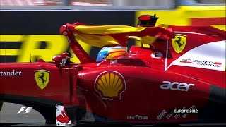 Fernando Alonso Thrills Valencia | 2012 European Grand Prix