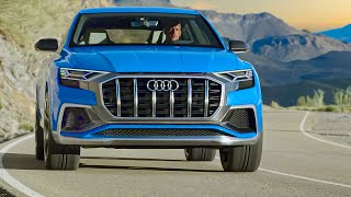 2018 Audi Q8 - Luxury SUV a bit sportier and more aggressive