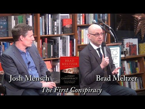 "Brad Meltzer, ""The First Conspiracy"" (w/ Josh Mensch) Mp3"