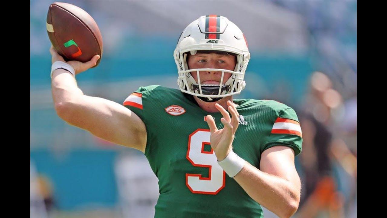 More Miami injuries: Jake Garcia out vs. Virginia; Leonard Taylor ...