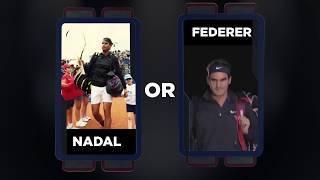 Nadal vs Federer head to head: Federer Nadal highlights