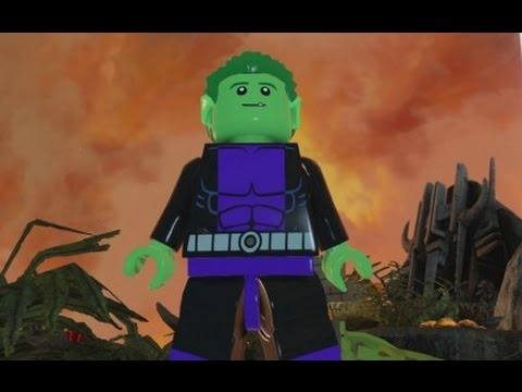 LEGO Batman 3 - Beast Boy Free Roam Gameplay ...