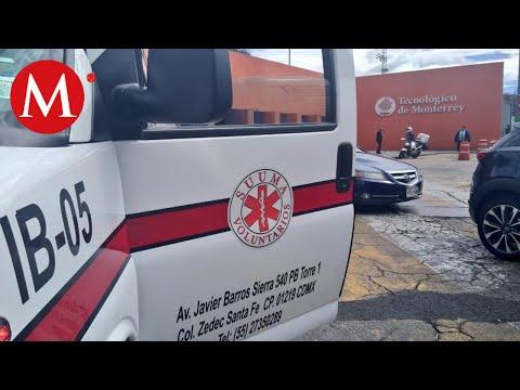 Asalto deja un herido en Tec de Monterrey, en Santa Fe