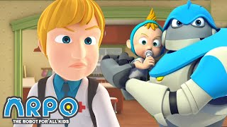 Arpo the Robot | Diseases Outbreak! | FULL EPISODE | Funny Cartoons for Kids | Arpo and Daniel