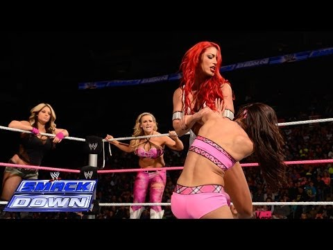 Brie Bella & The Funkadactyls vs. Natalya & Kaitlyn & Eva Marie: SmackDown, Oct. 11, 2013