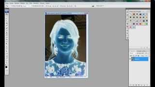 Photoshop Resmi Negatif Yapma - MorSumbul