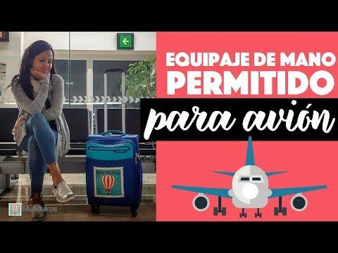 yo lavo mi ropa Enorme atmósfera  Qué se considera equipaje de mano en un avión? - YouTube