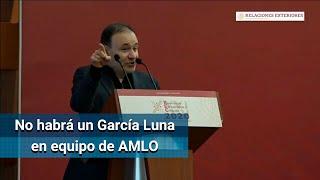 En el equipo de primera línea del Presidente no se va a encontrar jamás a un García Luna: Durazo
