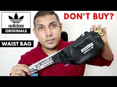 repetir Oscurecer Descodificar  Adidas Originals R.Y.V. Waist Bag | Cross Body Bag | Adidas Bum Bag | Adidas  Fanny Pack (FM1296) - YouTube