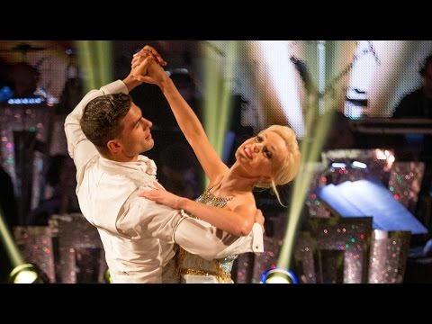 Helen George and Aljaz Skorjanec Viennese Waltz to 'At Last'  Strictly Come Dancing: 2015