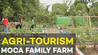 Farm tourism by MoCa Family Farm, a farm tourism showcase for small Filipino farmers | #Agriculture