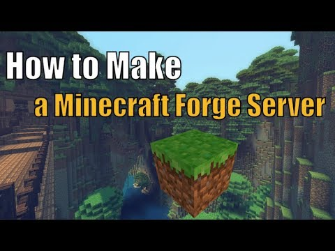 [Minecraft] How To Make A Server With MODS! (All Versions)