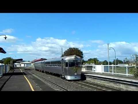 Australian Locomotives - Queensland Rail Heritage - Silver Bullet