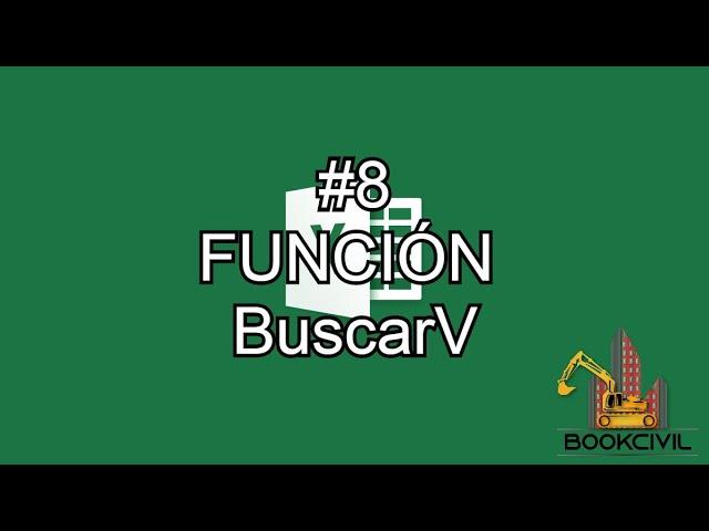 Curso de Excel - #8 Función BuscarV