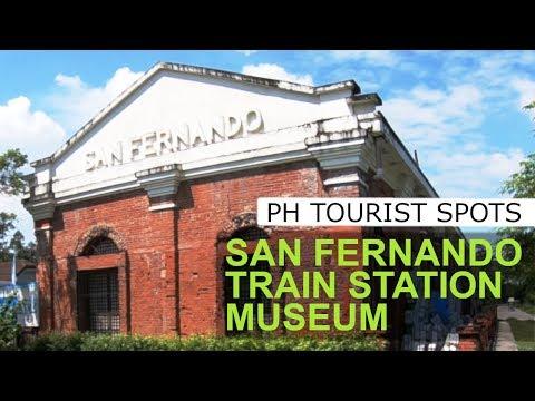 Philippine Travel Guide: San Fernando Train Station Museum Pampanga