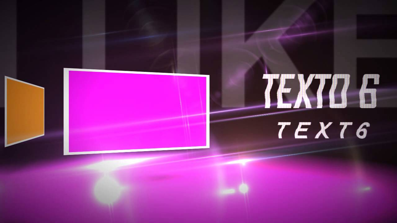 template fotos 3d para sony vegas pro 10, 11, 12 y 13 - youtube, Powerpoint templates