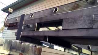 Ladder Rack Install For Van, Wood Roofrack, How To, Haul Plywood