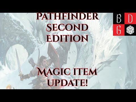 Pathfinder Second Edition Magic Item Update! MORE TRINKETS!