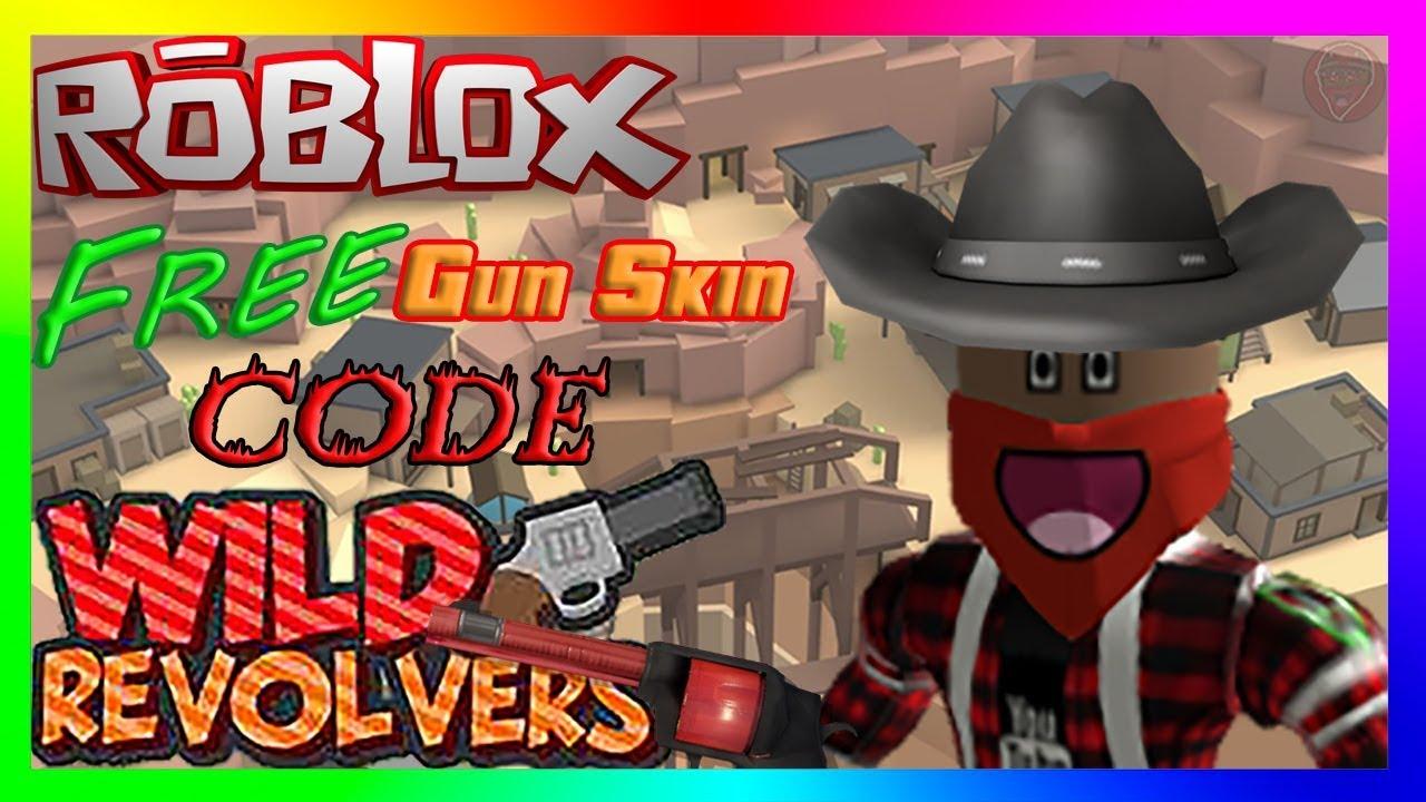 829c1598e166e Roblox - Wild Revolvers 💥🔫  NEW Skin Crate CODE  - YouTube