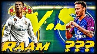 FIFA 18 : Real Madrid vs P.S.G ... che partita 🤣