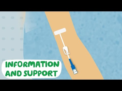 Having your PICC line put in - Macmillan Cancer Support