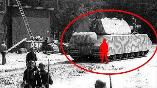 The Most Intimidating Tank of WWII | 5 Facts About the HUGE Panzer VIII Maus...