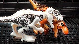 Lego Jurassic World - Zombies VS Dinosaurs