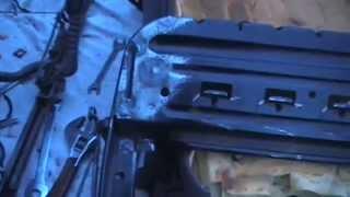 N.K.M. Ремонт водительского сидения Дэу Эсперо 96г.