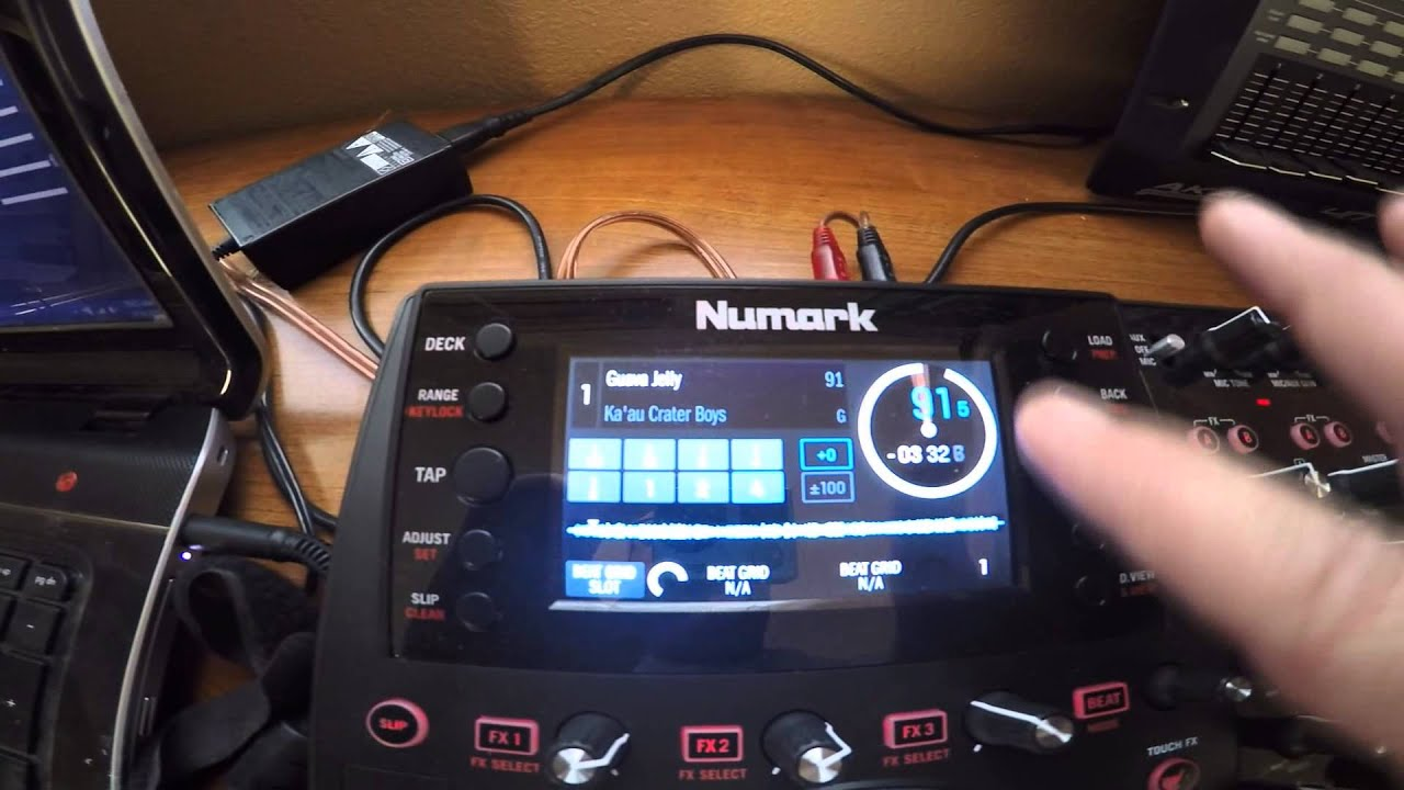 Numark NV Screen action with Virtual DJ 8 Beta Update ...