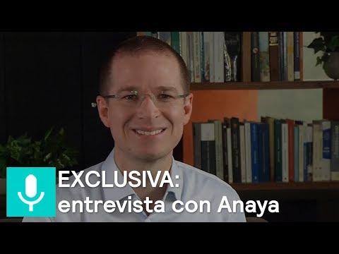 EXCLUSIVA: entrevista con Ricardo Anaya